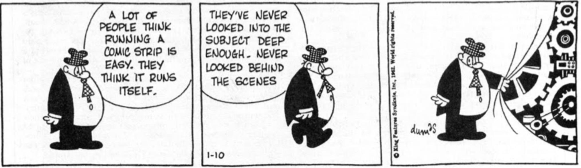 Sam's strip från 10 januari 1962