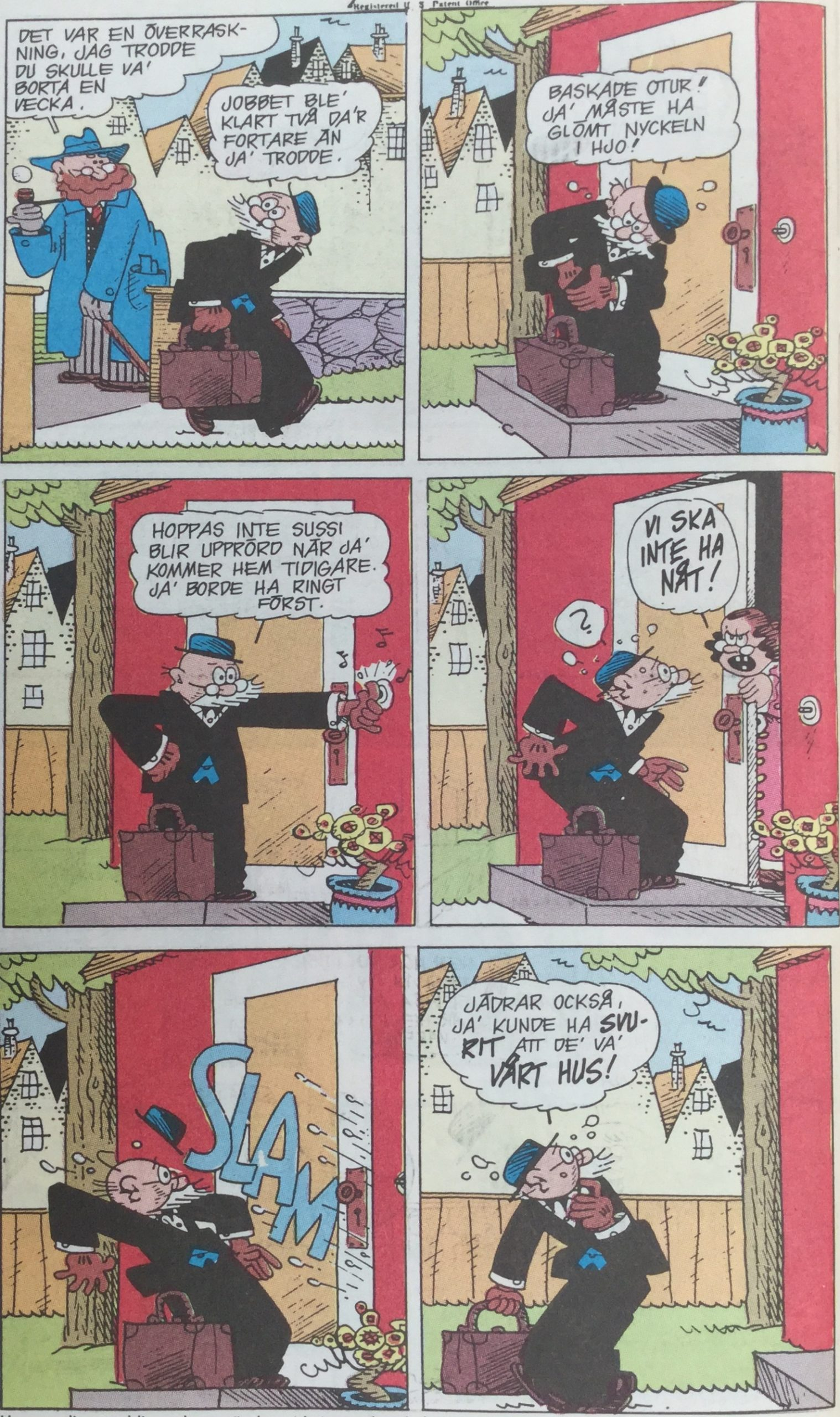 Polly and Her Pals av Cliff Sterrett från SeriePressen nr 9, 1993 - del 1