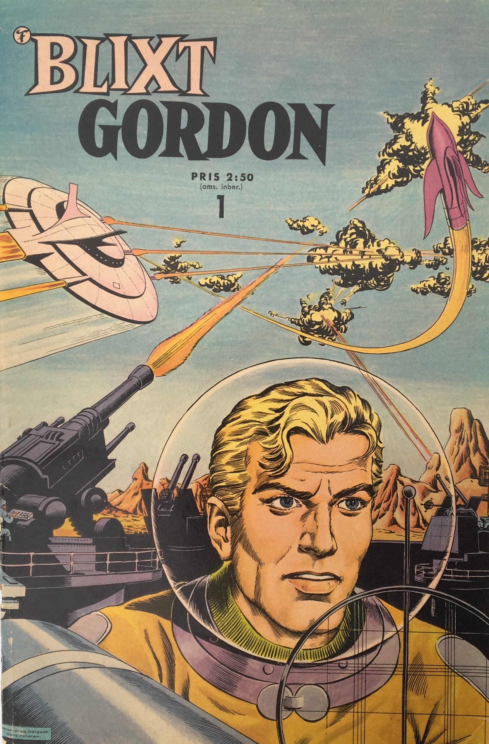 Blixt Gordon nr 1, 1962