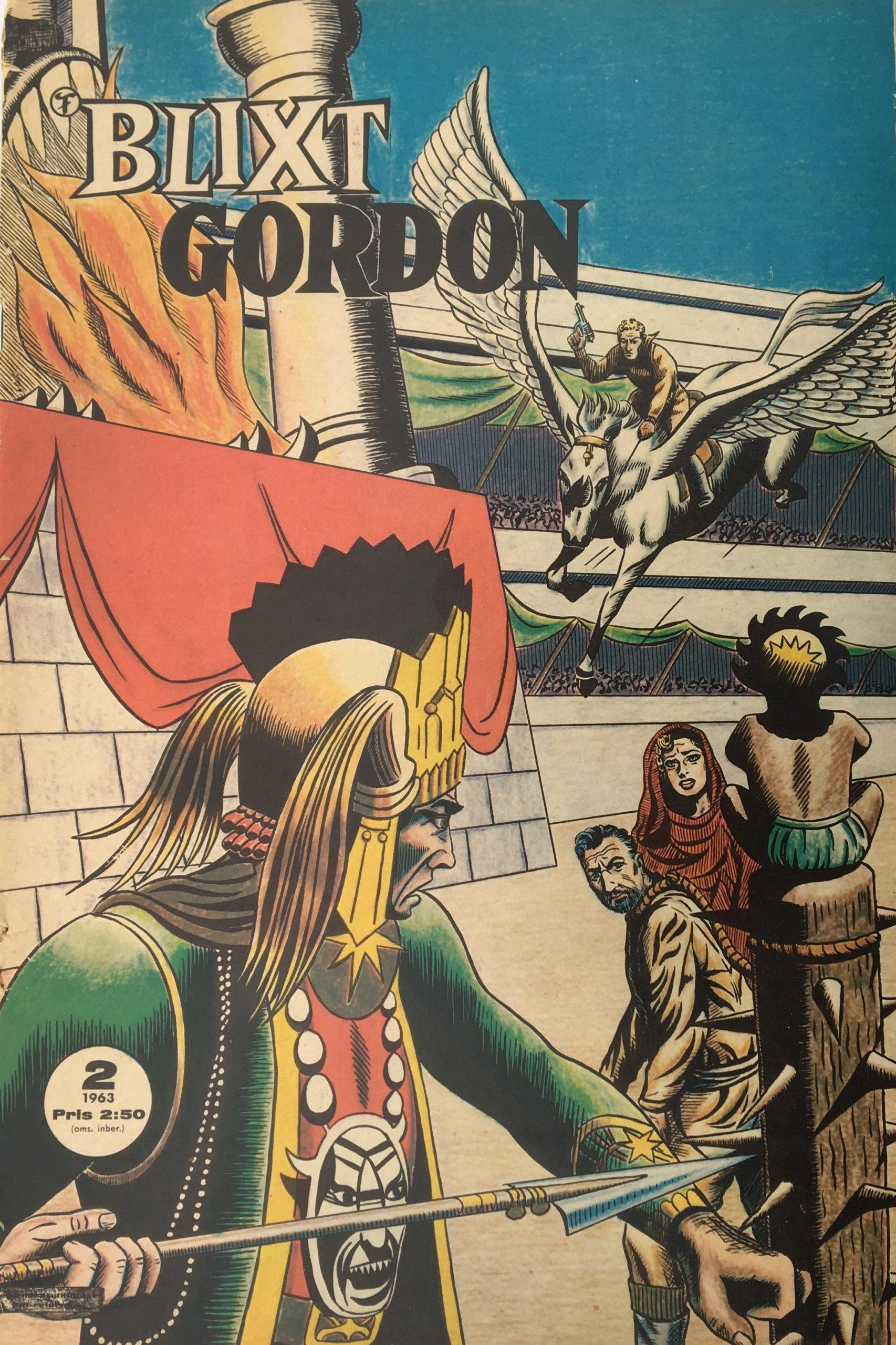 Blixt Gordon nr 2, 1963.