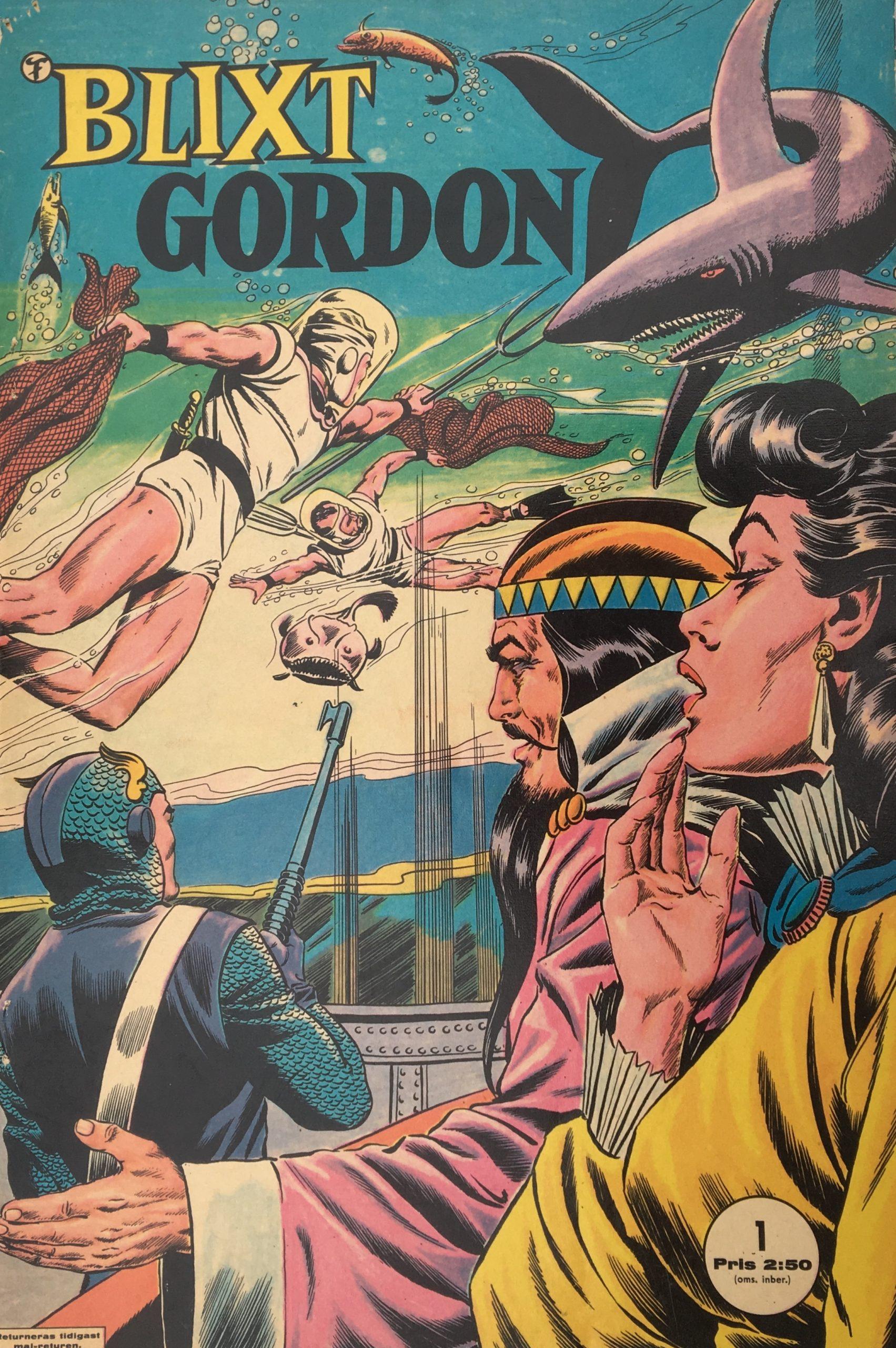 Blixt Gordon nr 1, 1963.