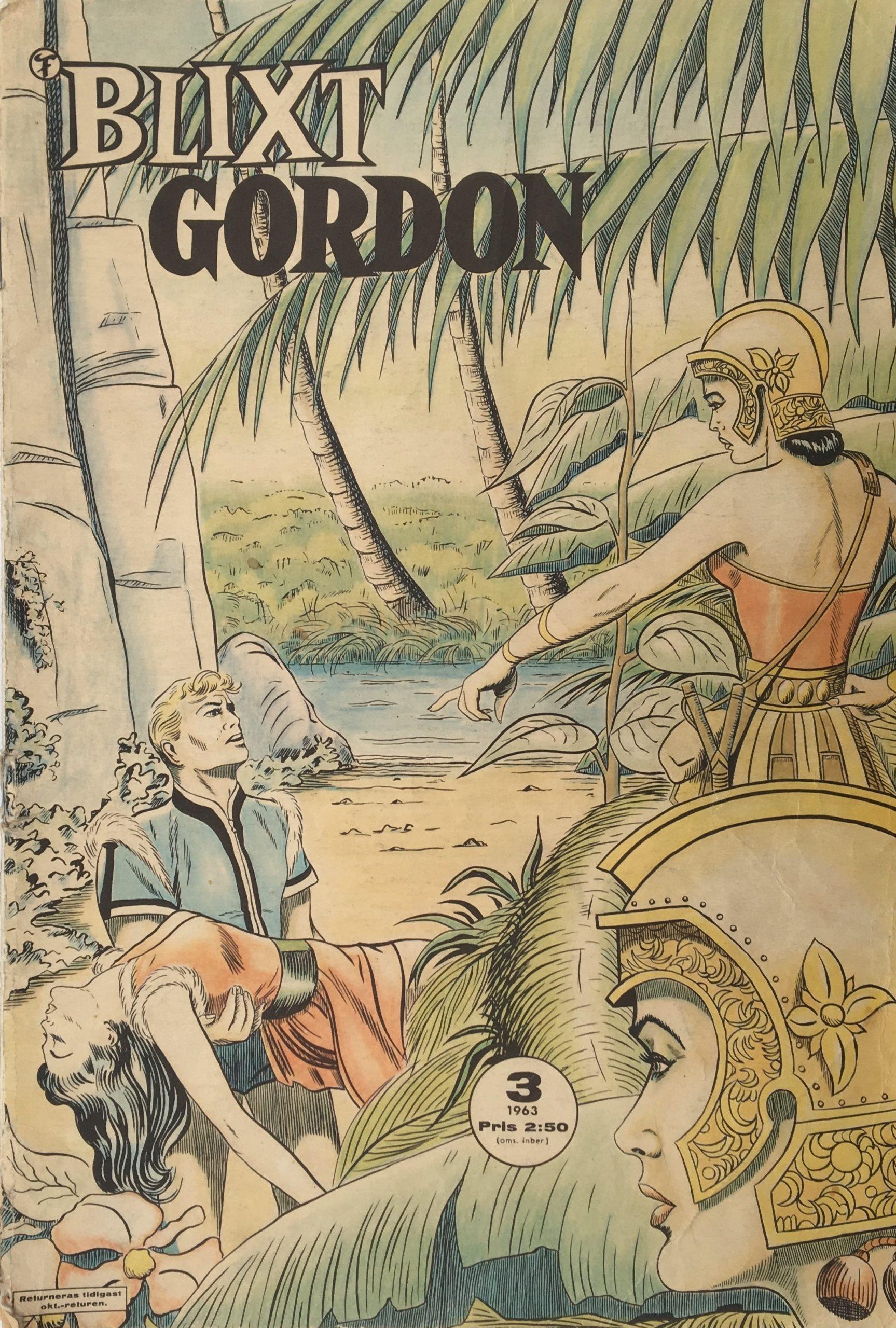 Blixt Gordon nr 3, 1963.