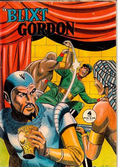 Blixt Gordon nr 4, 1963