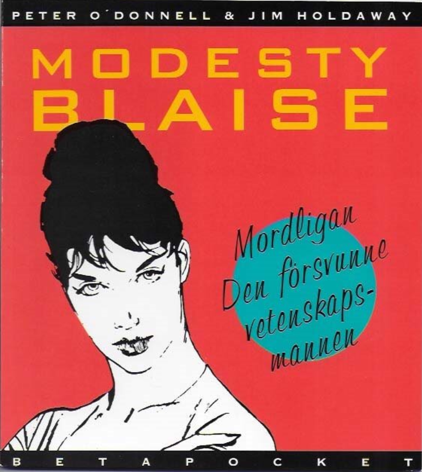 Modesty Blaise i Beta pocket nr 2, 1993