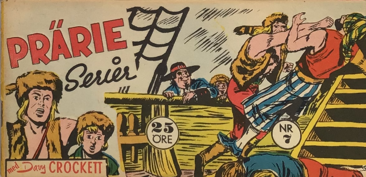 Prärieserier nr 7, 1959