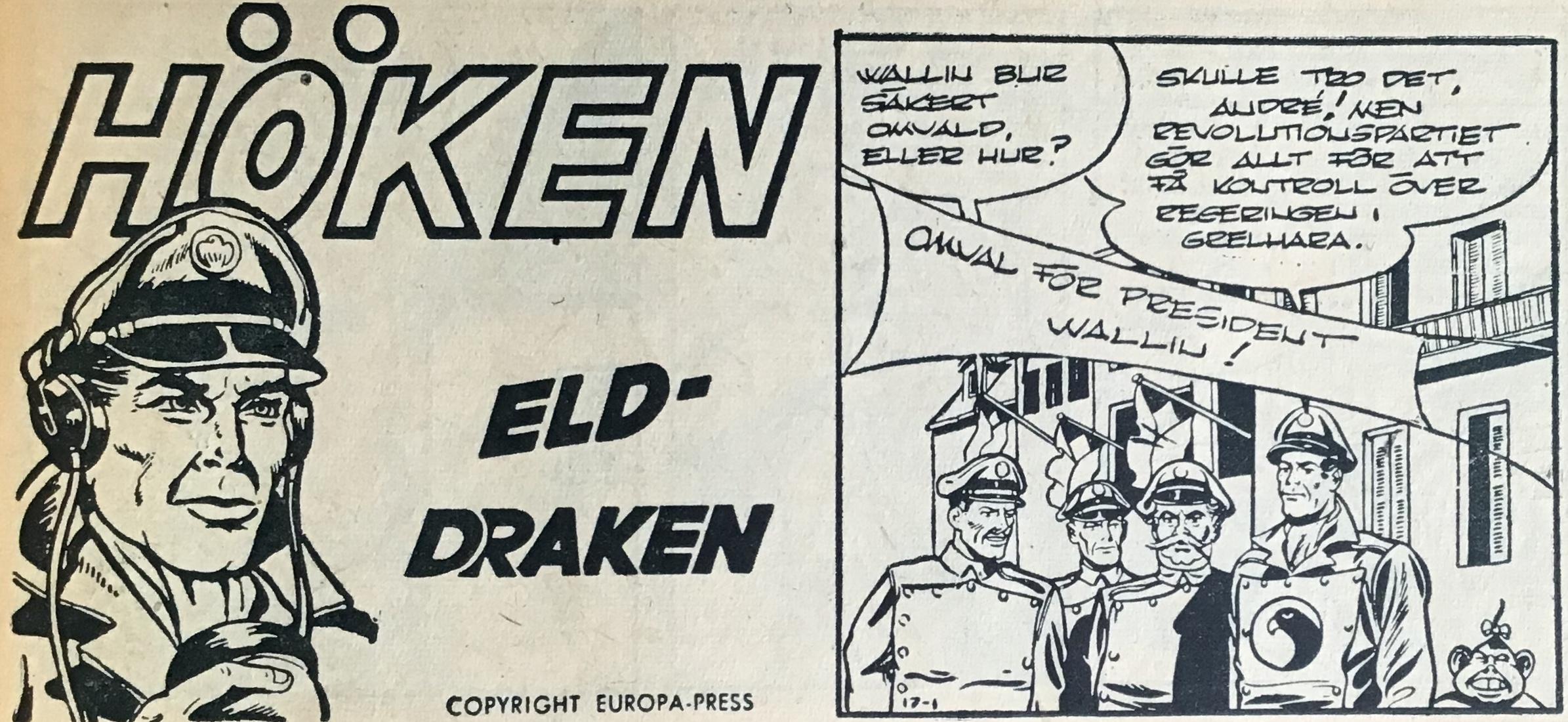 Elddraken heter Höken-episoden i Bob och Frank (Serieförlaget) nr 17