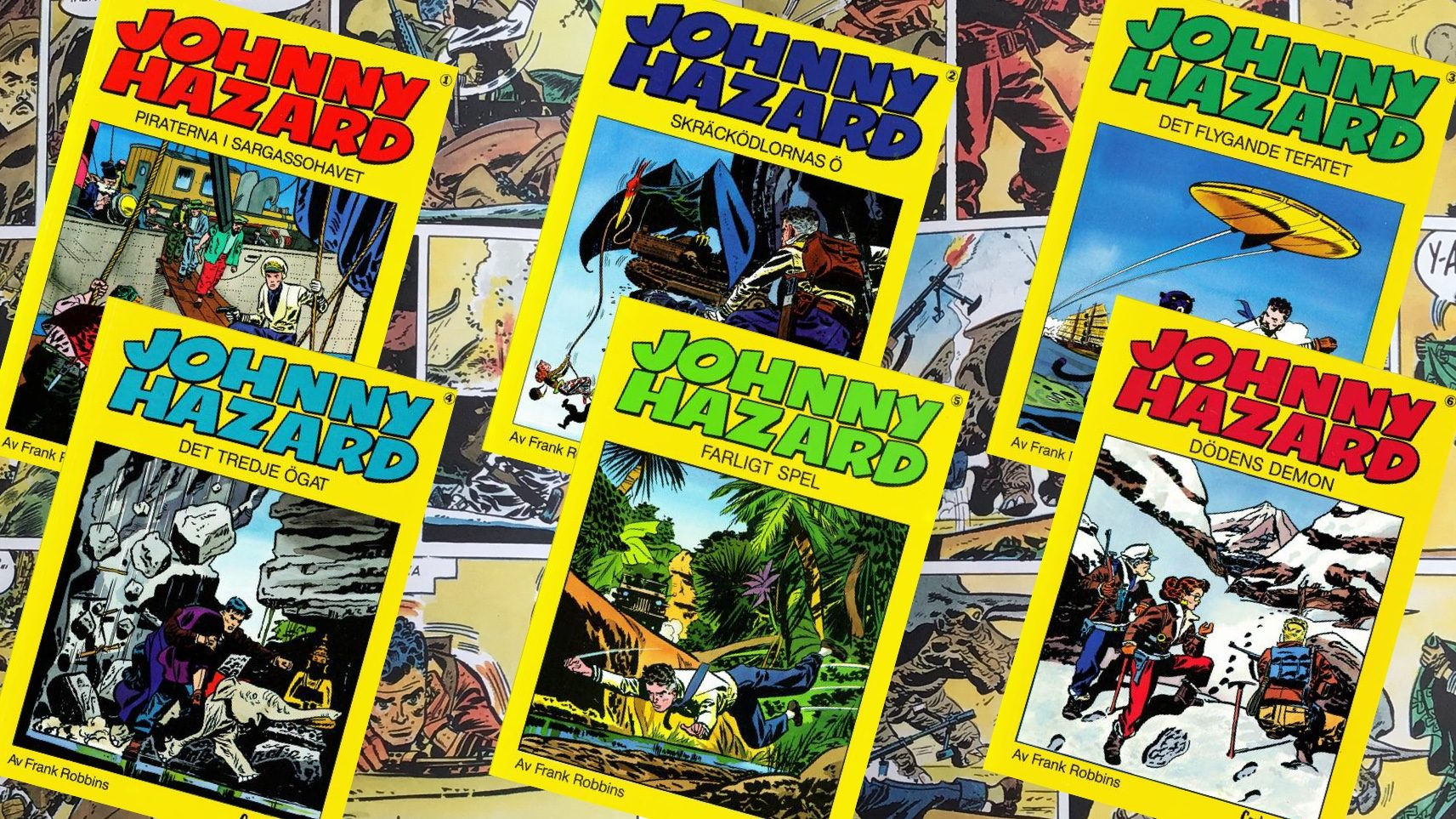 Johnny Hazard (Carlsen Comics)