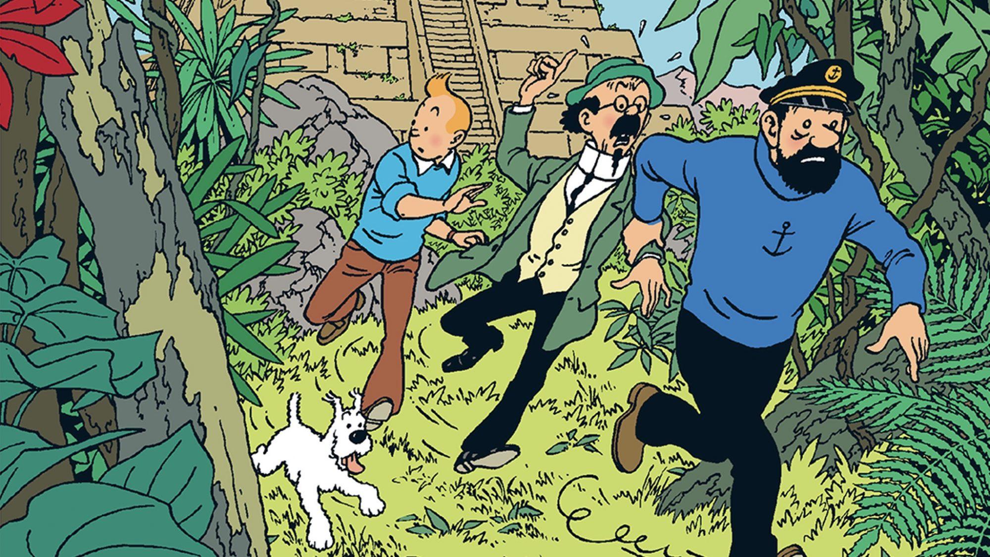 Tintin hos gerillan