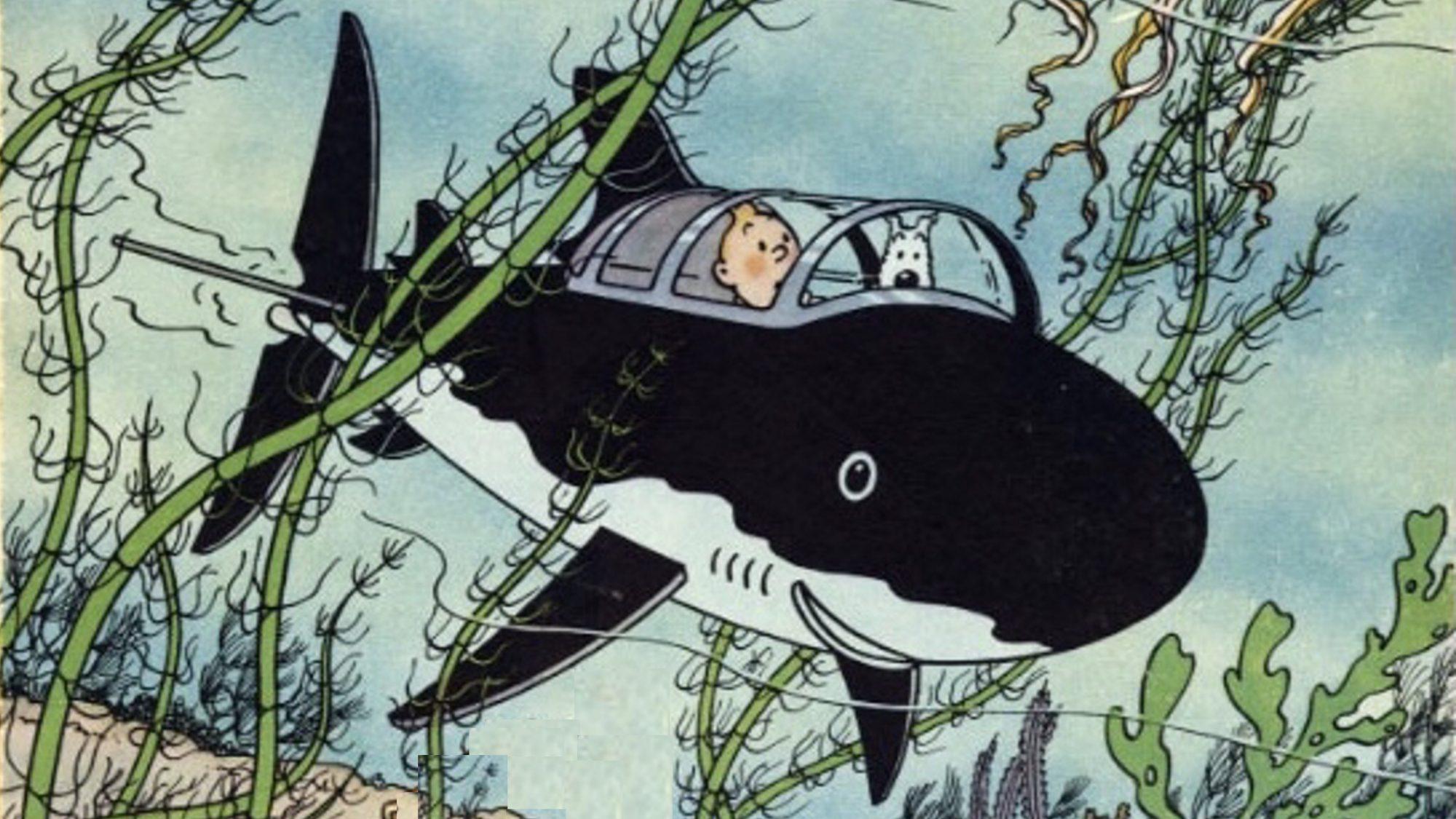 Rackham den Rödes skatt, med Tintin