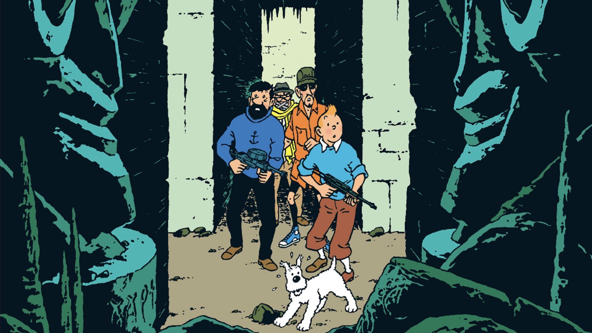 Plan 714 till Sydney, med Tintin