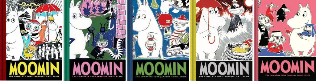Moomin #1-5: The Complete Tove Jansson Comic Strip. ©D&Q