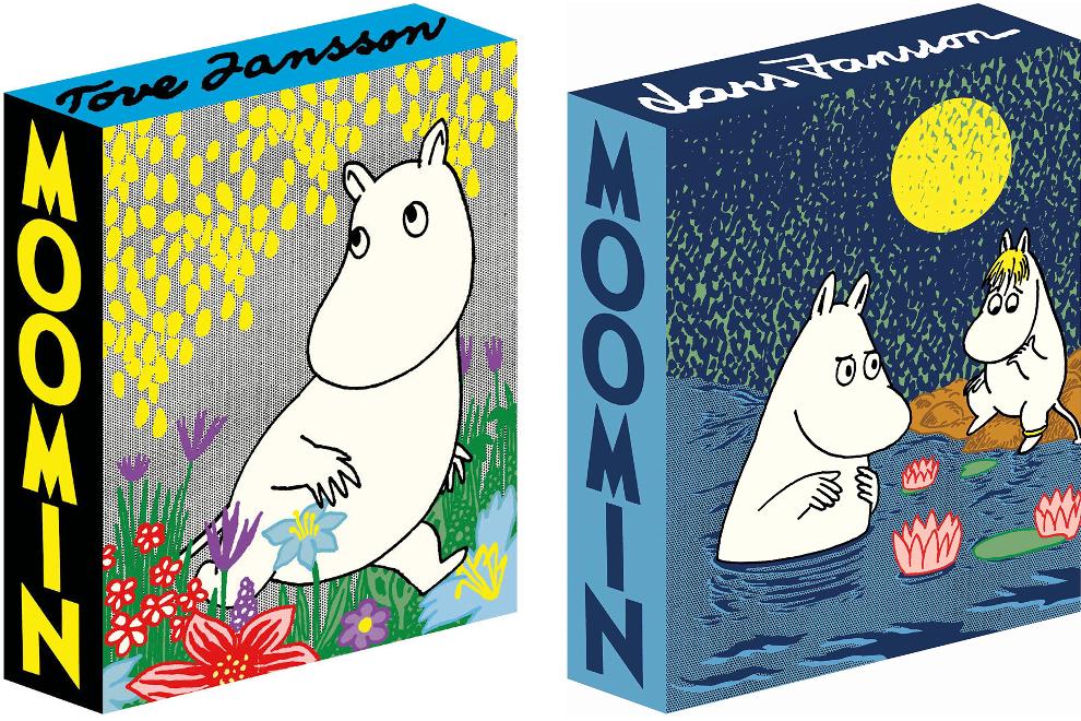 Moomin Deluxe: Volume one och Volume Two. ©D&Q