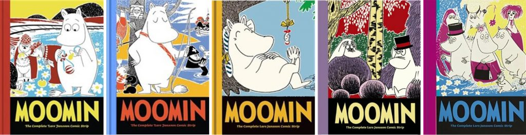 Moomin #6-10: The Complete Lars Jansson Comic Strip. ©D&Q