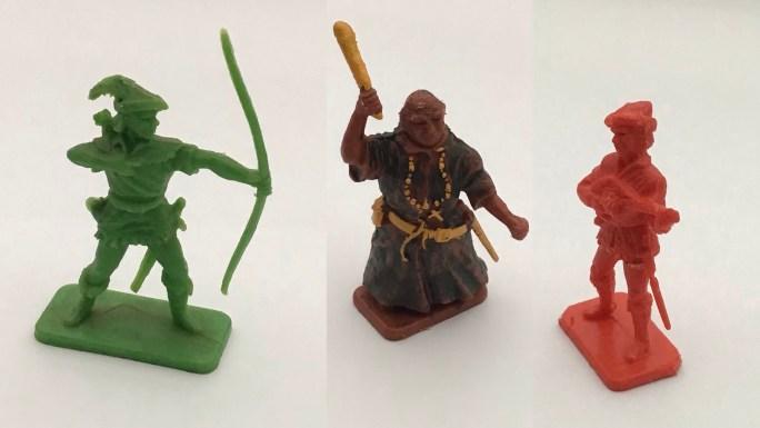 Robin Hood-figurer från Kellogg's