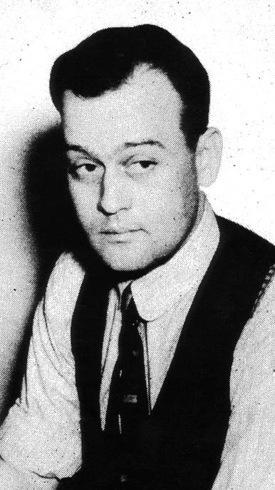 Serietecknaren och skämttecknaren Clyde Lewis.