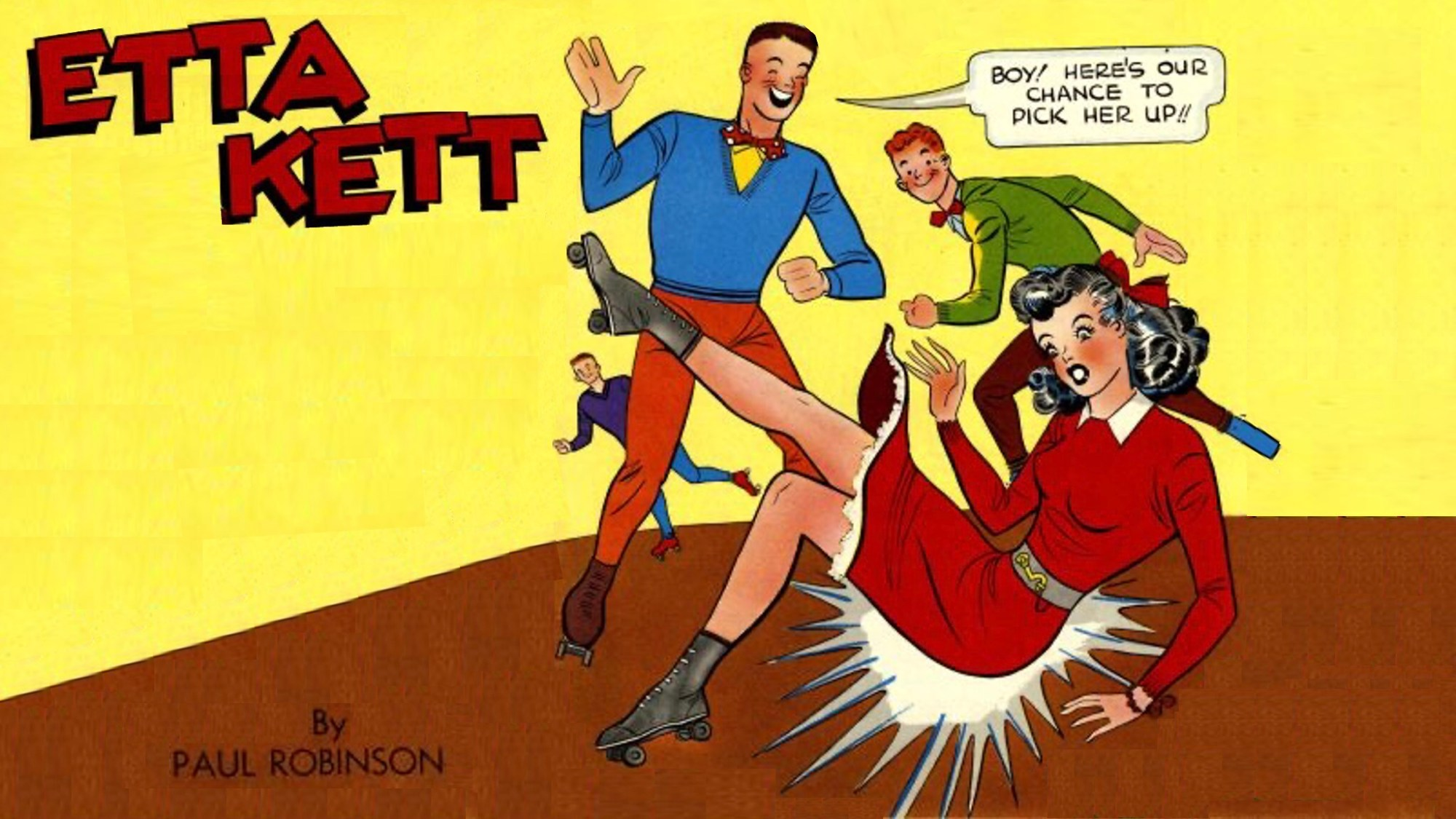 Peggy Lett (Etta Kett) av Paul Robinson