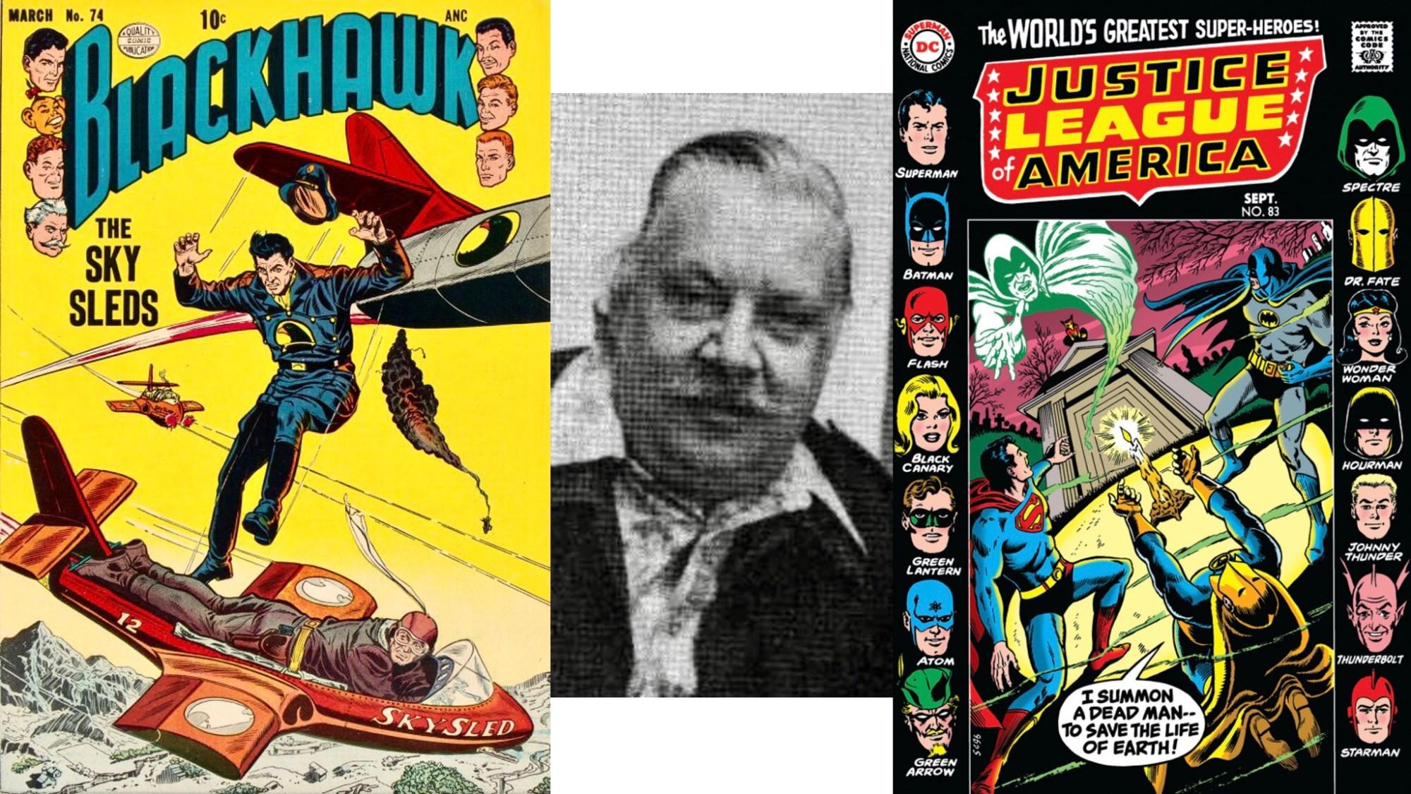 Dick Dillin, tecknare av bland annat Blackhawk och Justice League of America