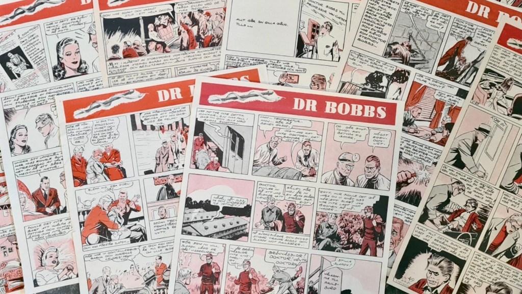 Dr Bobbs gick på svenska i Veckorevyn. ©Bulls