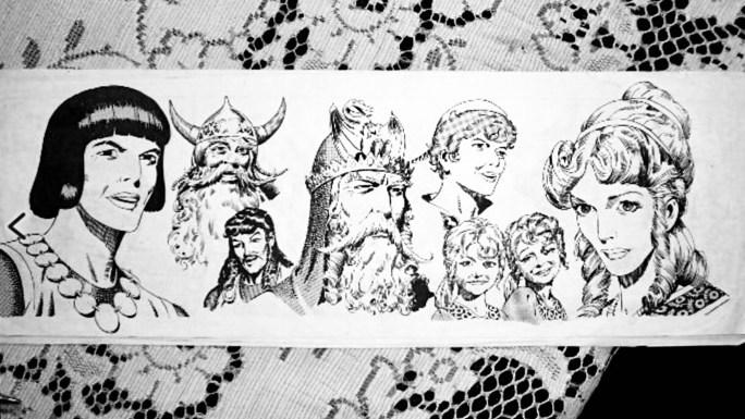 Repetto tecknade inte prins Valiant