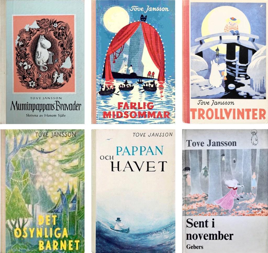 Andra romaner om Mumintrollen av Tove Jansson. ©Gebers/Moomin Characters