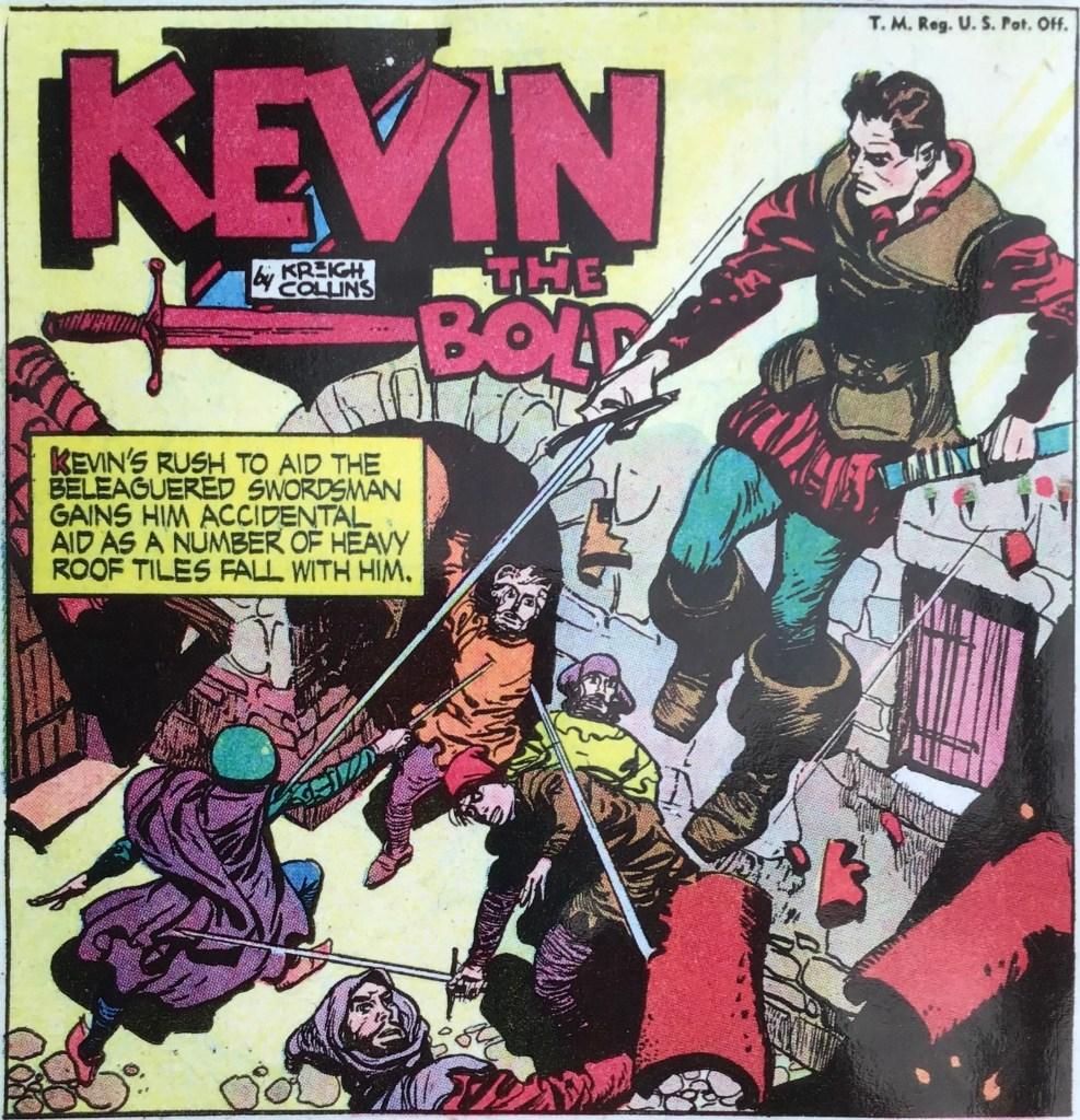 En serieruta med Kevin the Bold. ©NEA